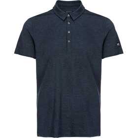super.natural Parzi Polo Shirt Herren navy blazer melange